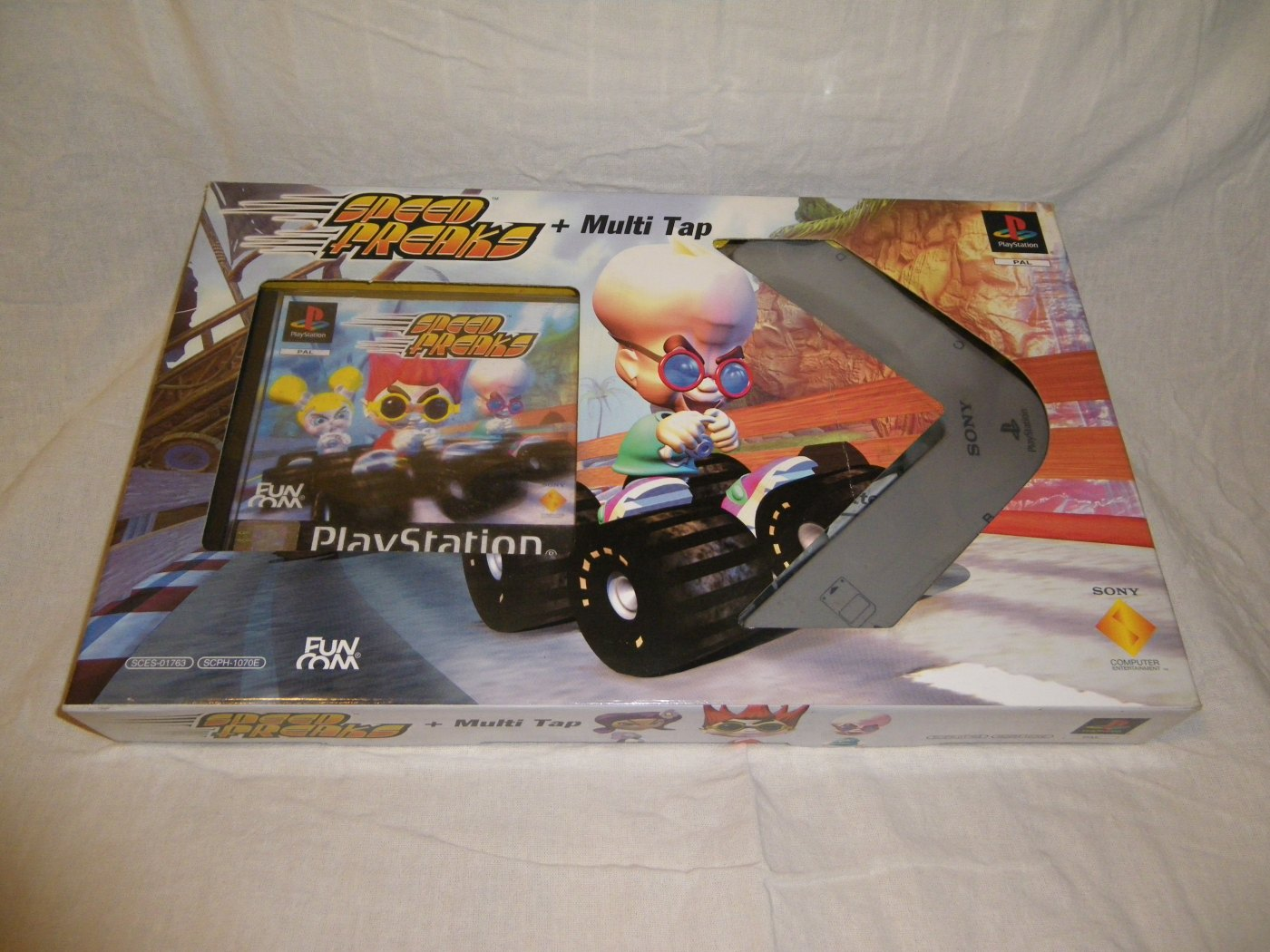 PS1] Speed Freaks + Multi Tap Bundle Eastern European Variant |
